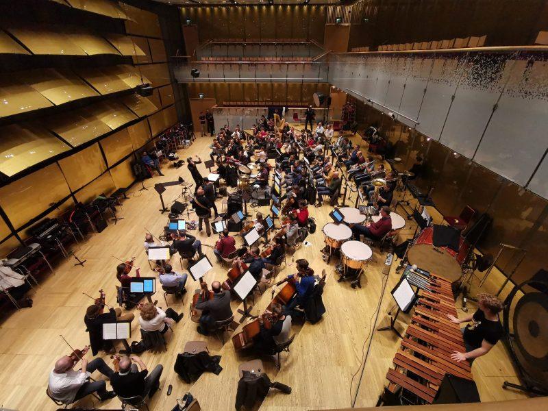 Orchesterprobe Aufnahme mit DelbeauFilm