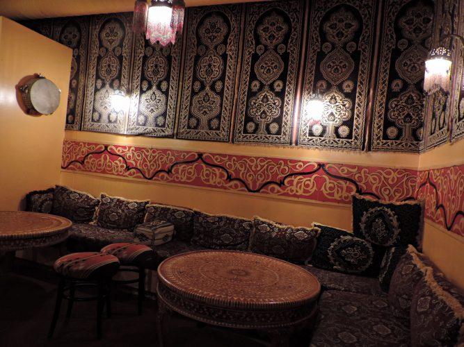 inside Ali Baba in Newark
