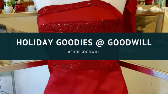 #ShopGoodwill for Holiday Goodies
