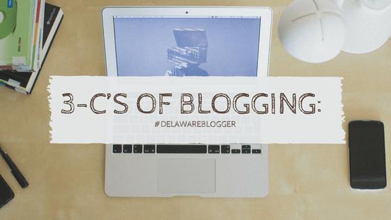 3 C's of Blogging: CONTENT, CONSISTENCY & COMMUNITY