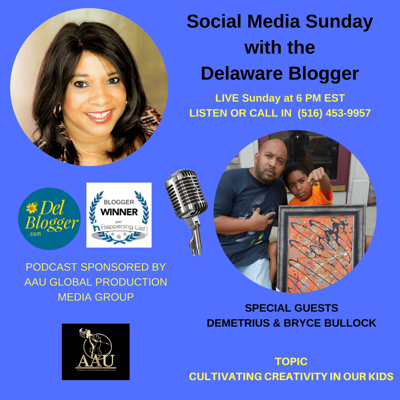 Podcast-guests-on-Social-Media-Sunday-with-the-Delaware-Blogger