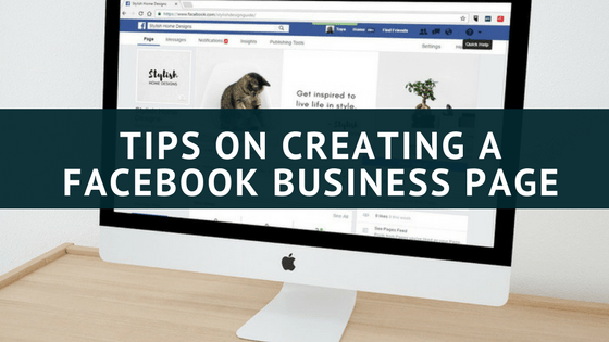 Tips on Creating a Facebook Business Page