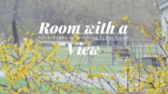 A Room With A View – Another Advantage of Working From Home