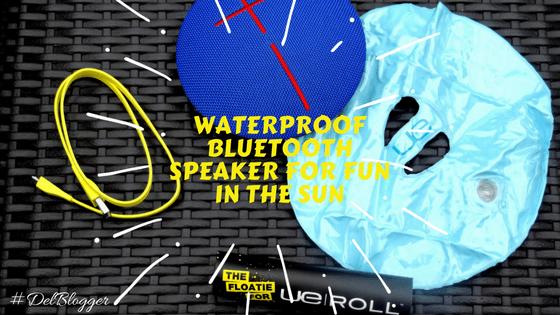 Waterproof Bluetooth Speaker For Fun in the Sun