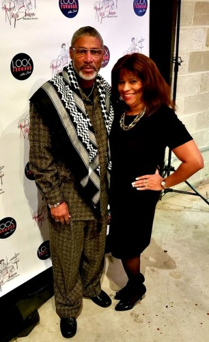 Gregory and Antionette Blake at Album Release Party November 2018