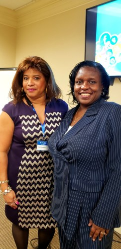 Cathy E Smith and Antionette Blake at Elite Conversations Business Conference