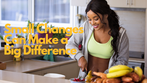Small Changes Can Make a Big Difference : Have a Healthy Holiday