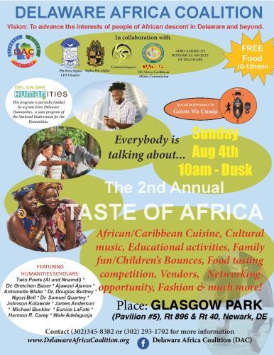 Taste of Africa at Glasgow Park