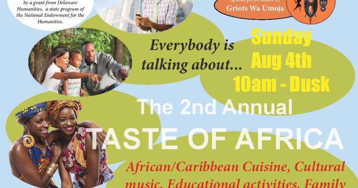 Delaware Africa Coalition 2nd Annual Taste of Africa Festival