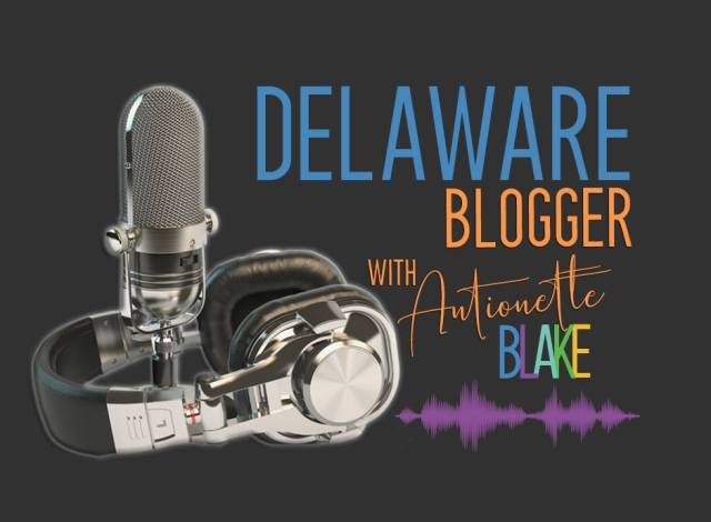 Delaware Blogger Podcast with Antionette Blake Logo