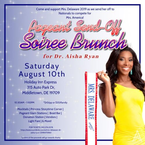 Mrs. Delaware America 2019 Pageant Send-Off Soiree Brunch