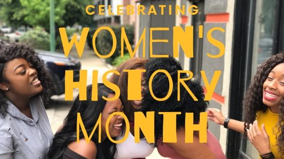 African American Women Celebrating