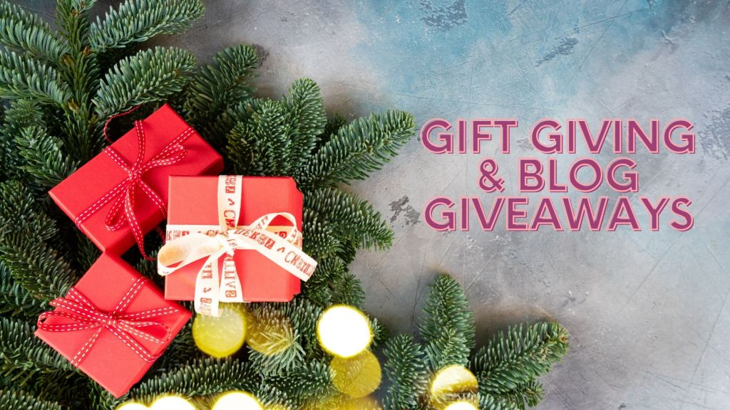 Gift Giving and Blog Giveaway avi