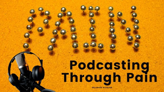 podcasting through your pain cover