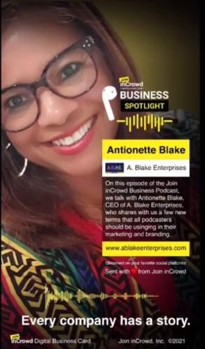 A. Blake Enterprises Podcast interview