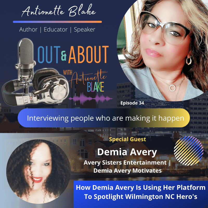 Podcast interview with Demia Avery