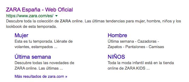 comercio digital o e commerce Zara online