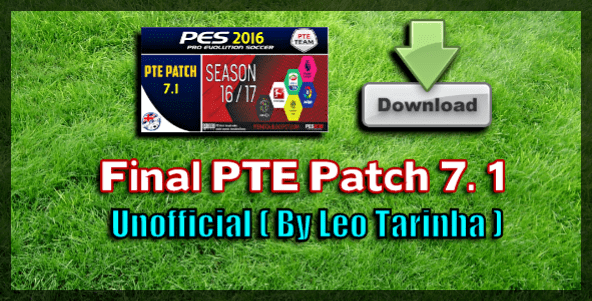 Patch PTE 7.1 Final (PES 2016)