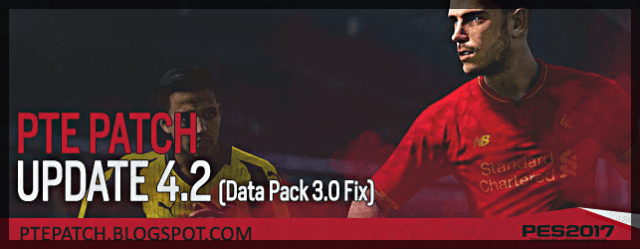 PTE Patch 4.2 (PES 2017) download and install on PC