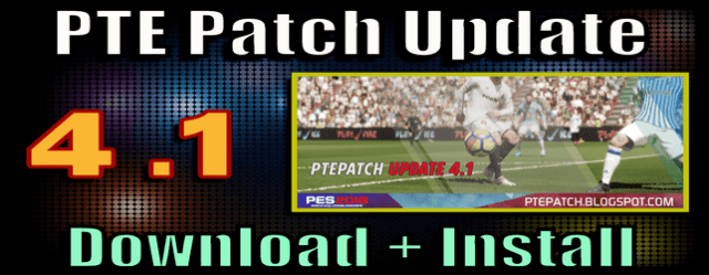 PES 2018) PTE Patch 4 1 Update : Download + Install - Del