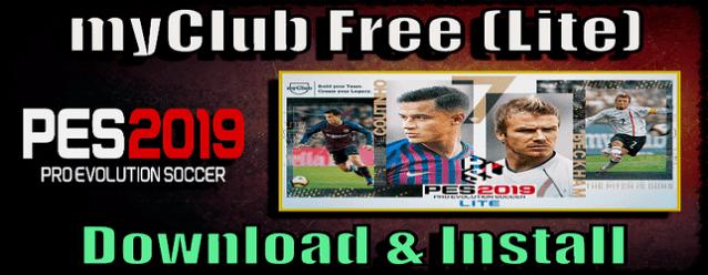 PES 2019 Free myClub [Lite] – Free to Play Online - Del Choc Web