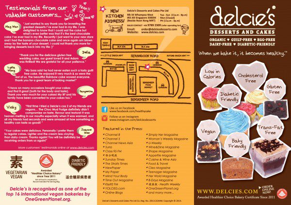 Delcie's Vegan Diabetic Friendly Gluten Free Baby Cakes 2