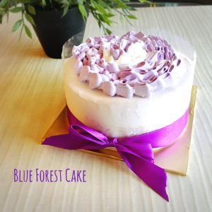Valentine's day Blueberry Blueforest cake