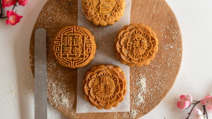 vegetarian mooncake