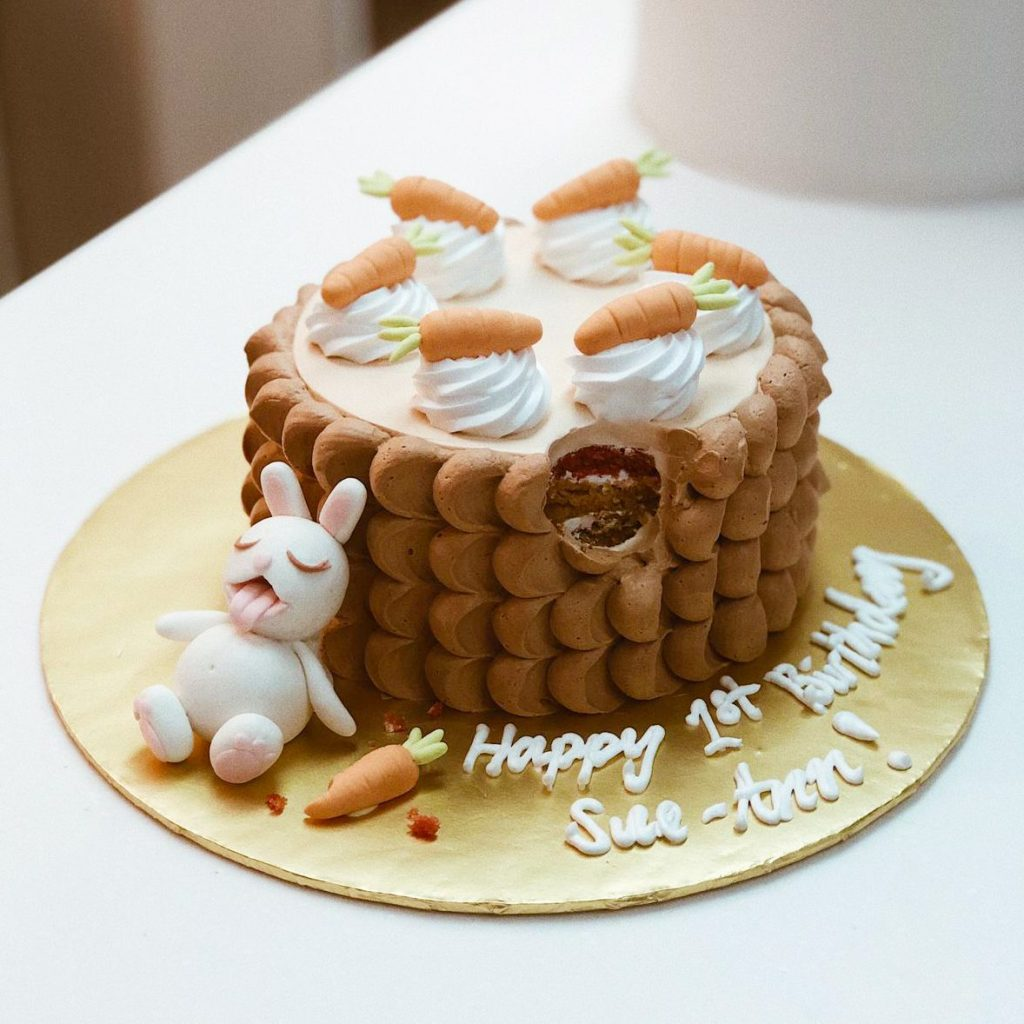 easter vegan cake