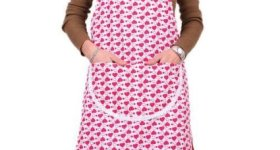 Valentine Heart Print Apron – Under $7 Shipped! Great Gift Idea!