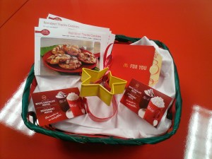 White Chocolate Mocha Gift Basket