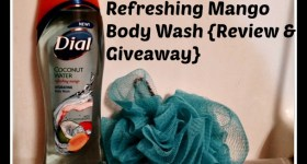 Dial Coconut Water Refreshing Mango Body Wash {Review & Giveaway} #GetNoticed
