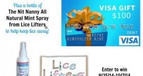 Lice Removal The Natural Way With Lice Lifters {Giveaway} #LiceLifters