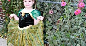 BuyCostumes.com Disney Princess Anna Coronation Dress {Review}