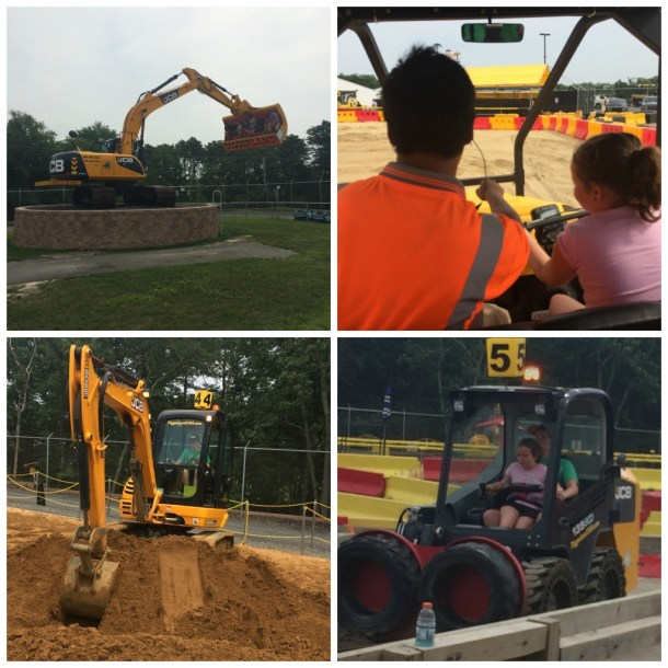 diggerland collage