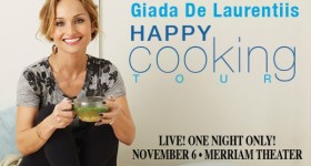 Giada De Laurentiis Book Tour Coming to Philadelphia 11/6/15 – Presale Tickets Now Available {and a Giveaway}