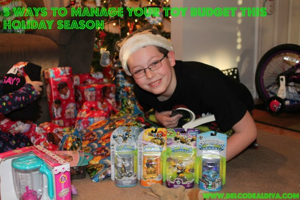 Holiday Toy Budget