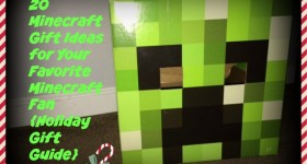 20 Minecraft Gift Ideas for your Favorite Minecraft Fan {2015 Holiday Gift Guide}