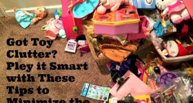 Got Toy Clutter? Pley it Smart with These Tips to Minimize the Mess
