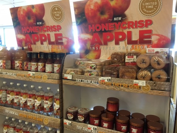 Honeycrisp display