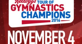 2016 Kellogg's Tour of Gymnastics Champions Coming to Wells Fargo Center in Philadelphia 11/4/16 {and a Ticket Giveaway}
