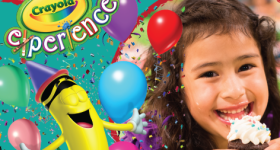 Discount Tickets for The Crayola Experience {and a Birthday Party Giveaway}