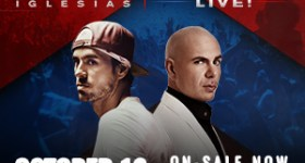 Enrique Iglesias & Pitbull LIVE at Wells Fargo Center in Philadelphia 10/13/17 {& a Ticket Giveaway)