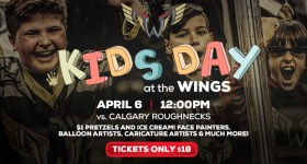 The Philadelphia Wings Host Kids Day at the Wells Fargo Center Saturday April 6th