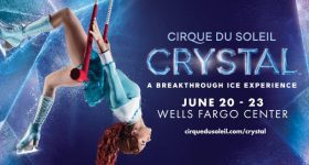 Cirque Du Soleil Crystal –  A Breakthrough Ice Experience is Coming to the Wells Fargo Center in Philadelphia 6/20 – 6/23 {& Ticket Giveaway}