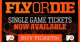 Tickets are Now Available for the 2019 Flyers Home Opener vs the New Jersey Devils on Wednesday October 9th at Wells Fargo Center {& a Ticket Giveaway}