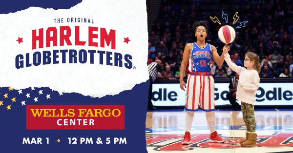 See the Harlem Globetrotters LIVE at the Wells Fargo Center in Philadelphia 3/1/2020 with a Discount Code & Ticket Giveaway