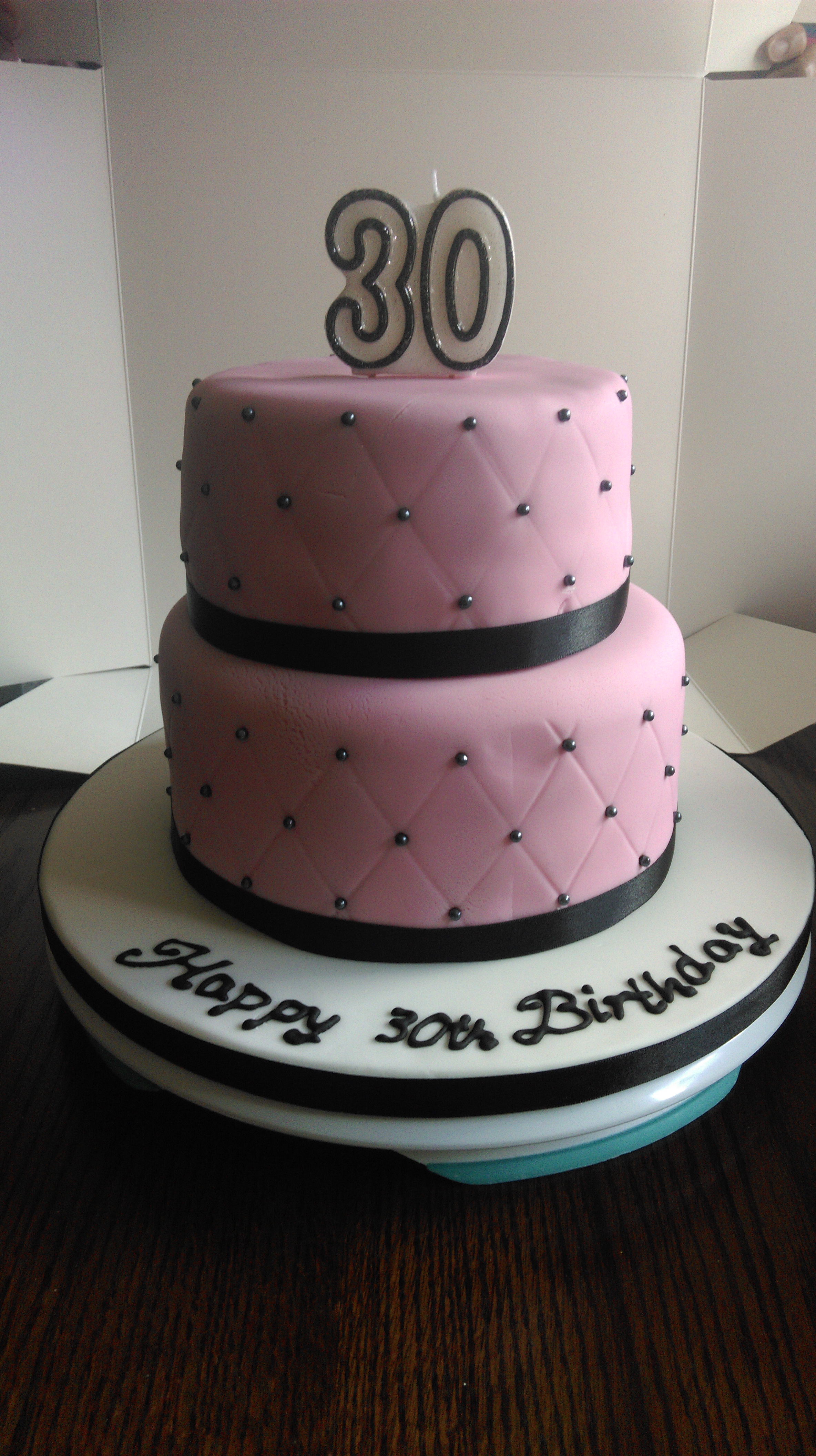 30th Birthday Cake For Female Delectablecakes