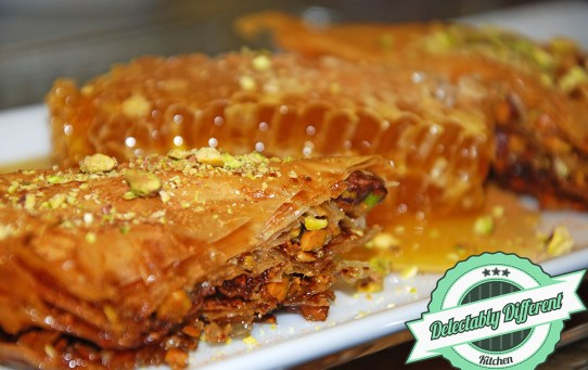 how to make baklava for the holidays