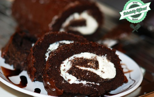 Chocolate Swiss Rolls Gluten-Free